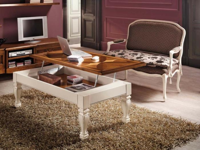 la table basse relevable pour votre