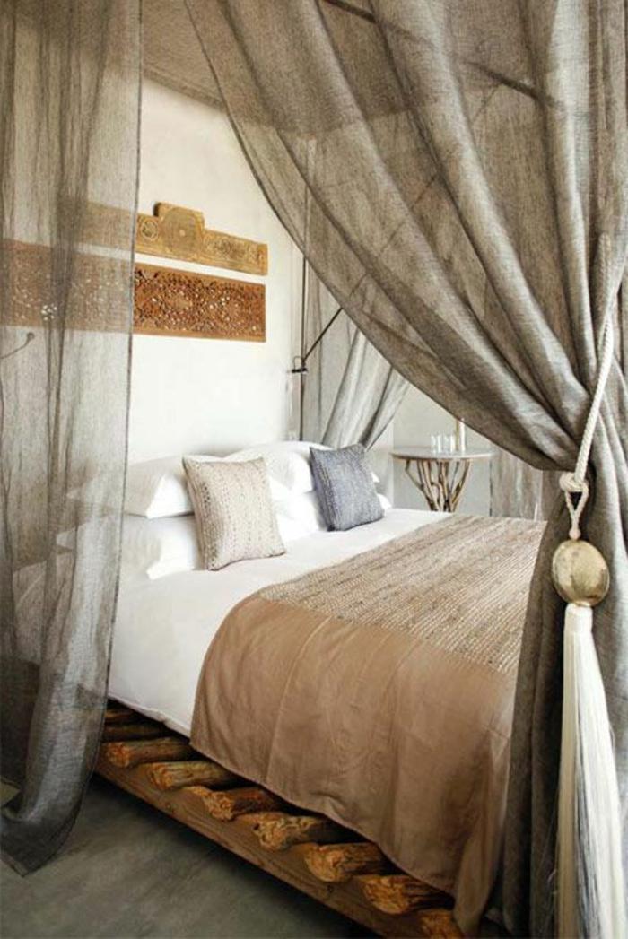 le rideau en lin une belle decoration