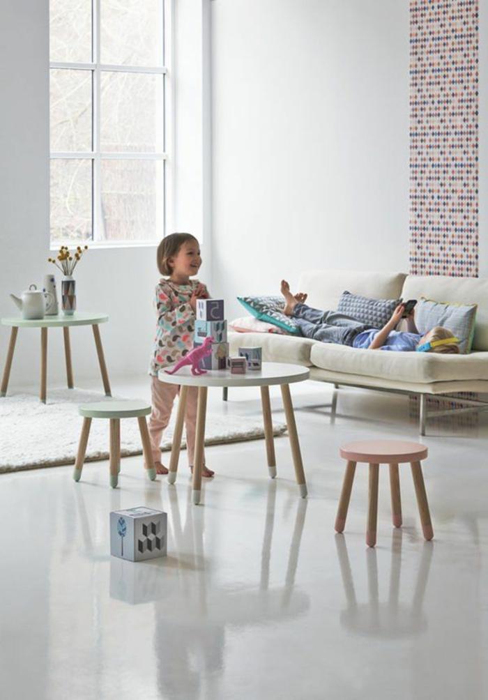 la table basse scandinave simplicite