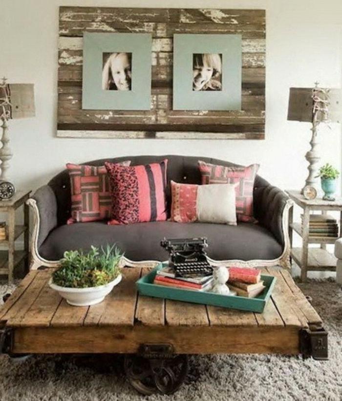 plusieurs designs pour la table de salon en palette