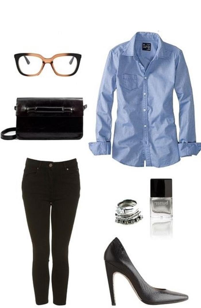tenues-chics-pour-femmes-rondes-tenue-de-jour-femme-charmante-geek-chic-tenue-pour-la-rentrée-scolaire