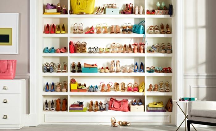 les meubles a chaussures en 50 photos