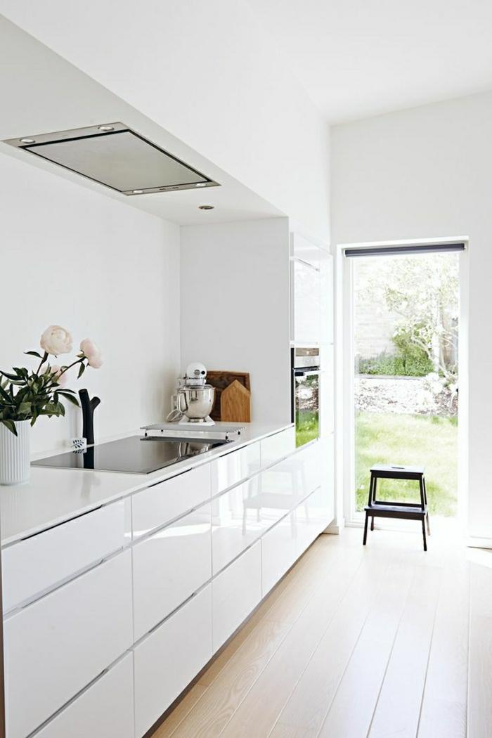 la cuisine blanche laquee en 35 photos