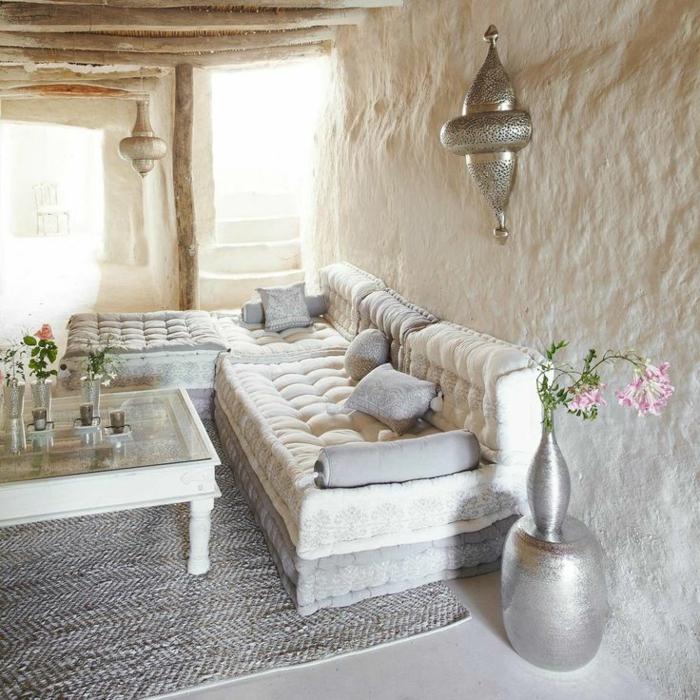 salon marocain de mille et une nuits
