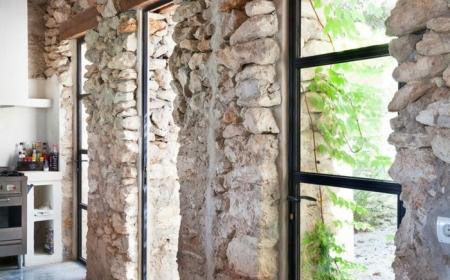 le mur en pierre apparente en 57 photos