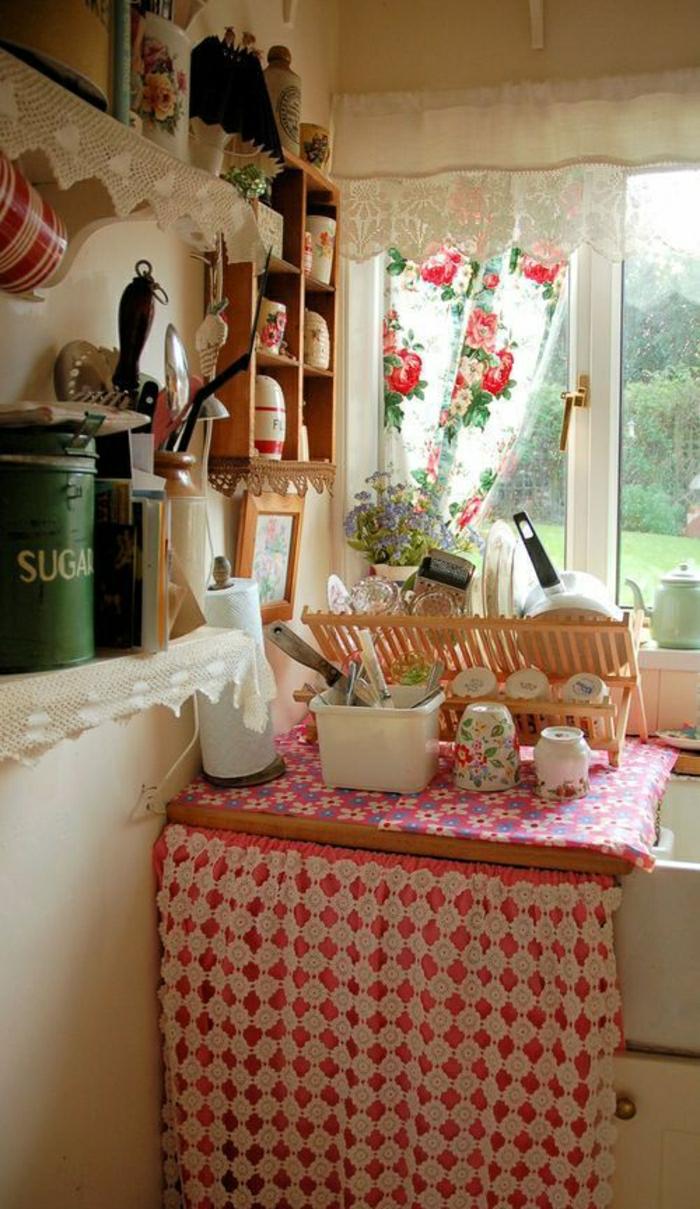 meilleur rideau de cuisine
