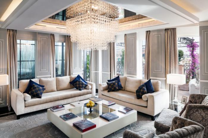 Intrieurs Avec Table De Salon Carre Belles Solutions