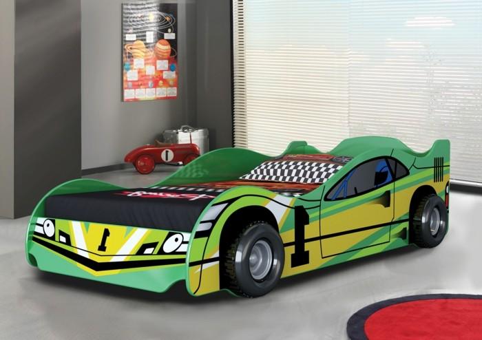 le lit voiture pour la chambre de votre
