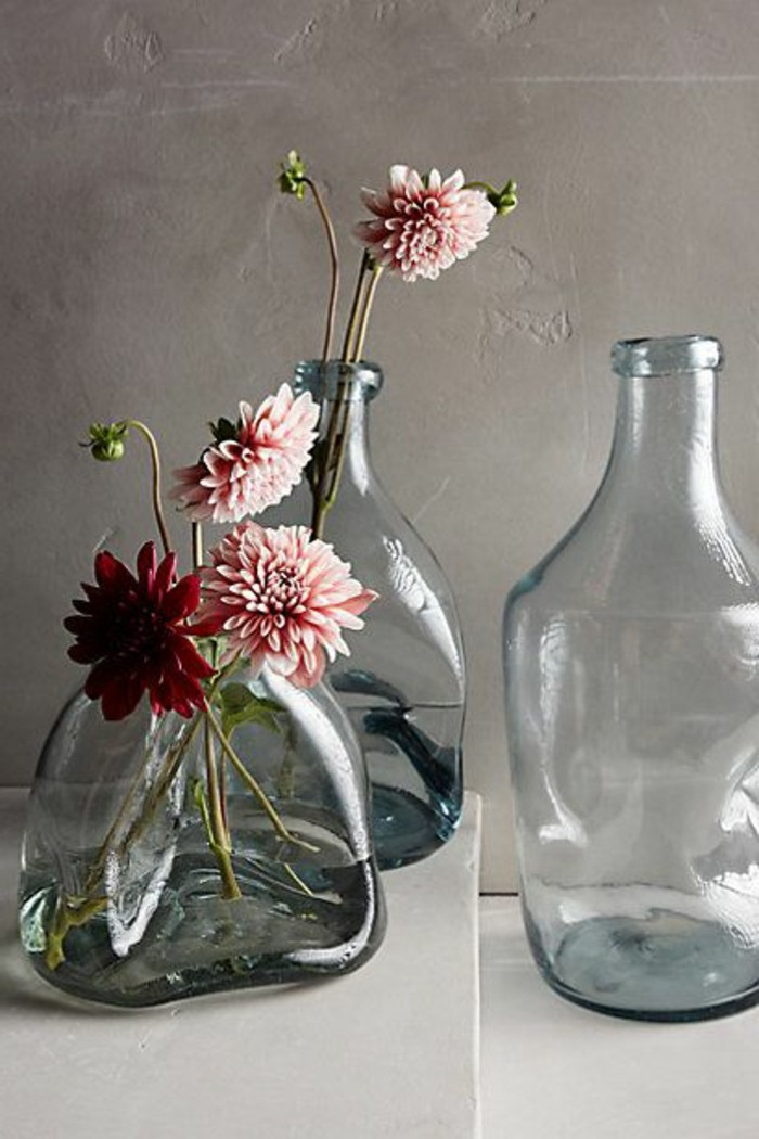 Le Grand Vase En Verre Dans 46 Belles Photos