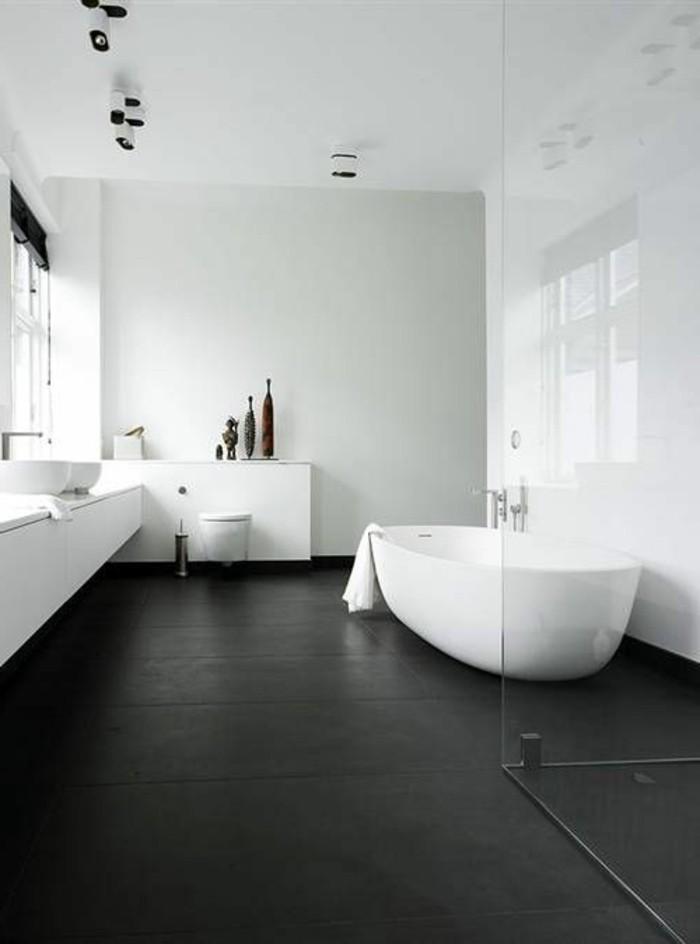 La Salle De Bain Noir Et Blanc Les Dernires Tendances