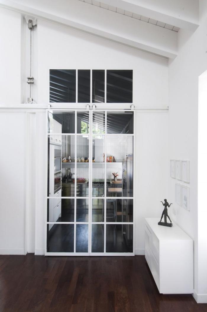 Maison Porte Coulissante Vitree Decoration De Maison
