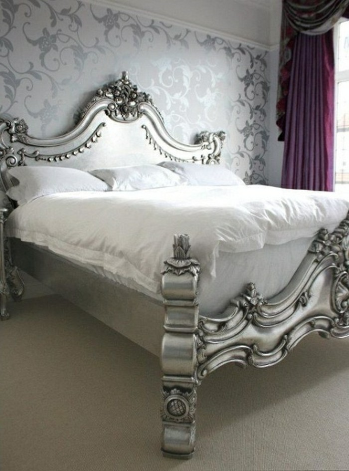 chambre style baroque meuble baroque pas cher lit