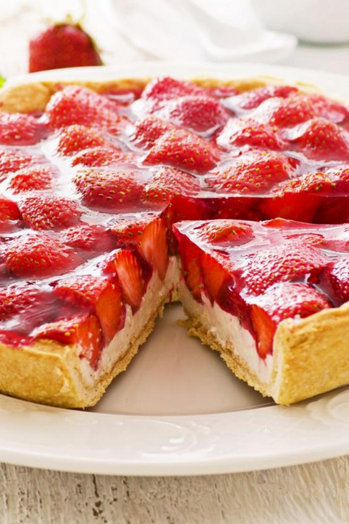 tarte-au-fromage-blanc-cheescake-aux-fraises