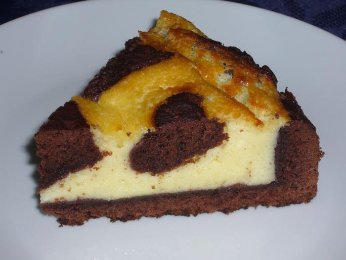 tarte-au-fromage-blanc-gâteau-au-fromage-et-cacao