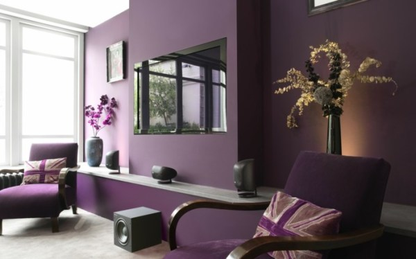 Awesome Chambre Rose Et Aubergine Pictures - House Design ...