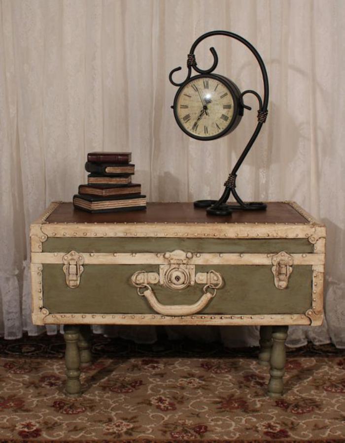 La Table Basse Coffre Une Touche Dco Vintage Qui Va