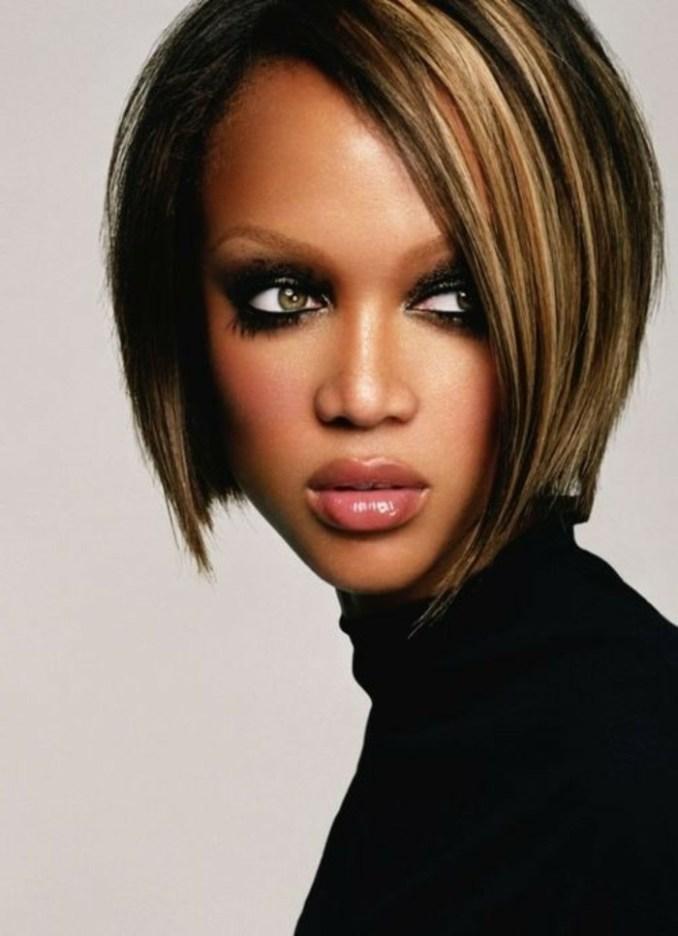 Image Result For Tyra Banks Long Bob