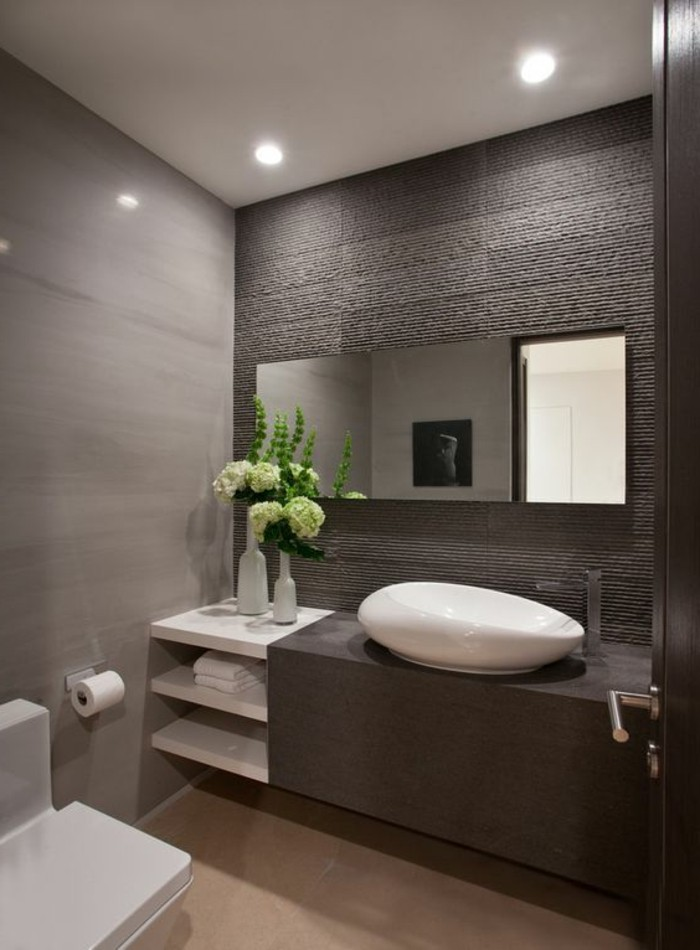 Comment Crer Une Salle De Bain Contemporaine 72 Photos