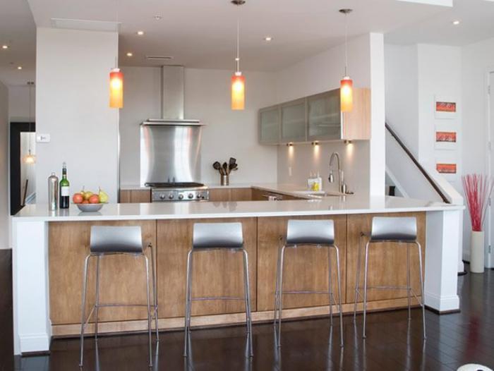 On peut échanger avec ses invités tout en mettant la dernière touche aux. Découvrez nos 84 jolies propositions pour cuisine avec bar ...