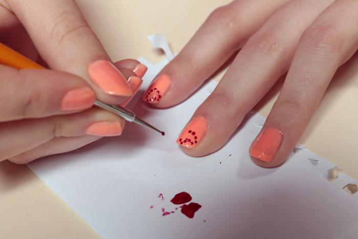 Nail Art Facile Dessins Sur Ongles