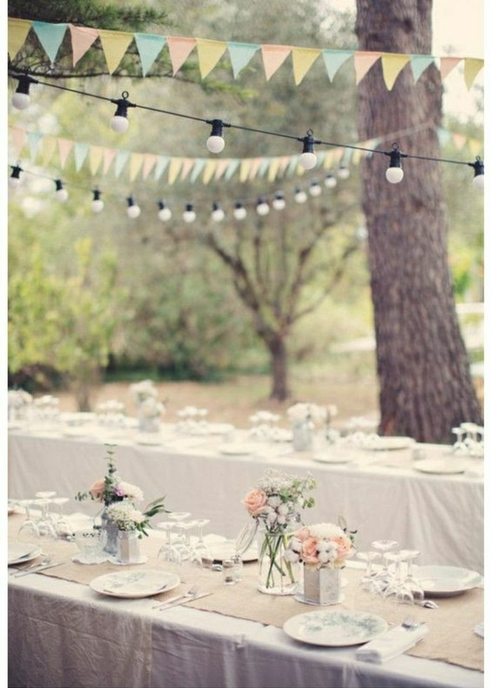 DIY Dco De Table Mariage Total 30 EUR