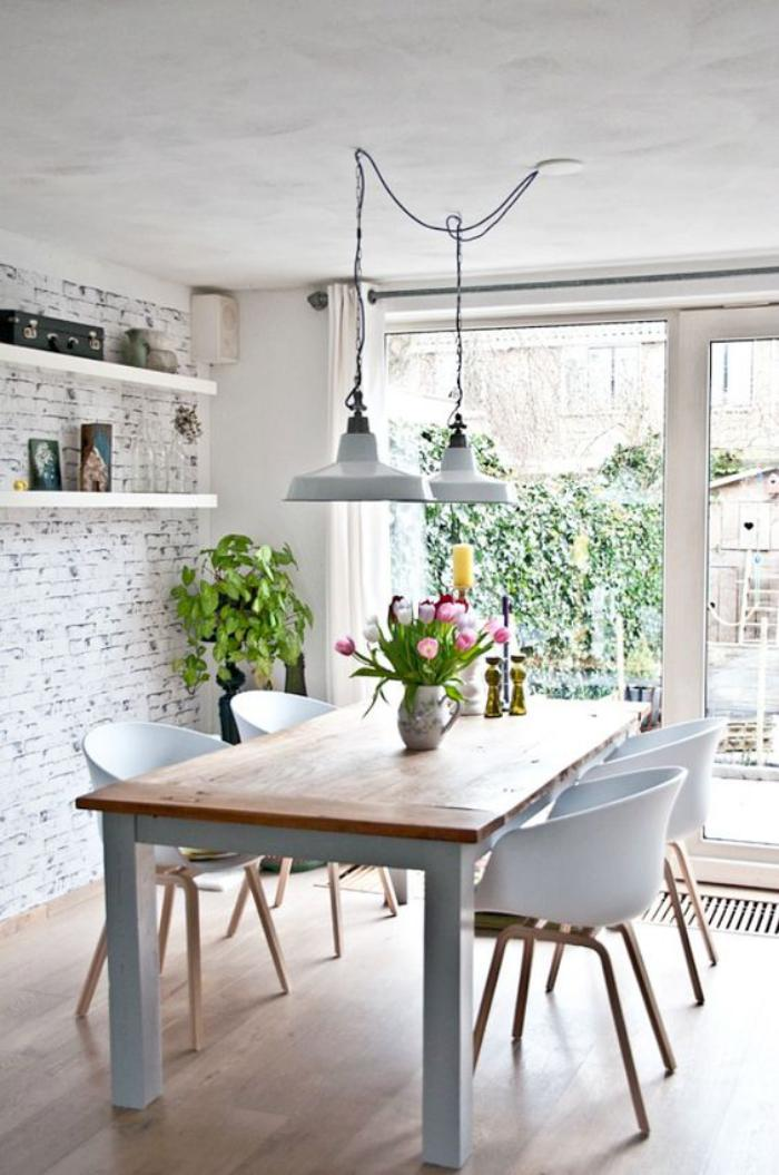 Chaise Salle A Manger Style Scandinave