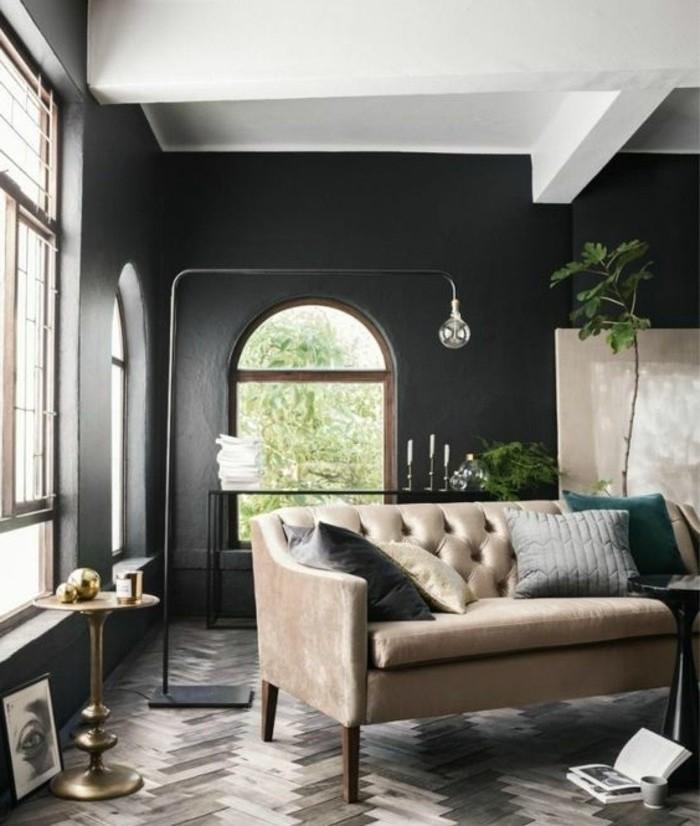 Ide Peinture Salon Noir Et Blanc - Lovehong.top