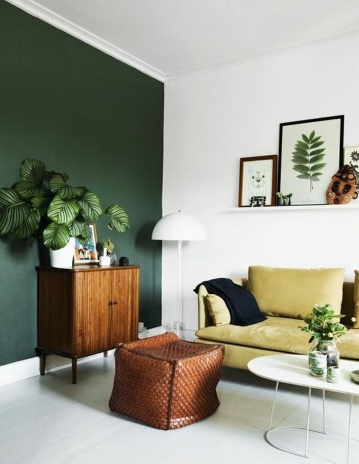 Ides Peinture Salon Vert