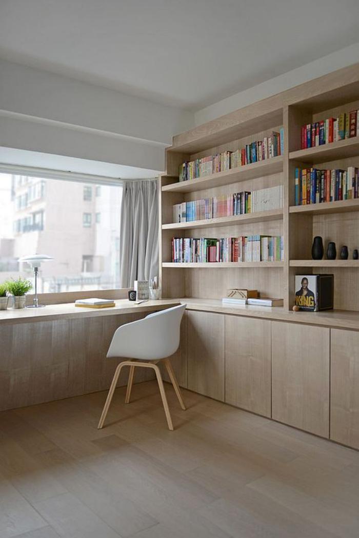 amenagement d un petit espace de travail le bureau style scandinave