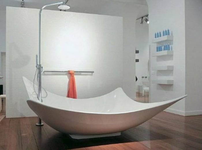 Salle De Bain Moderne Avec Baignoire | Kapokto