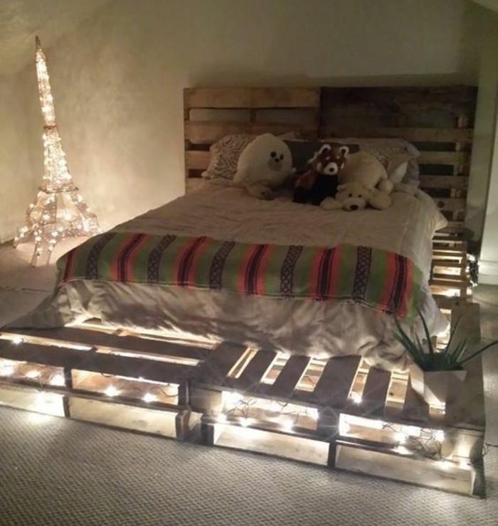 comment faire un lit en palette 52