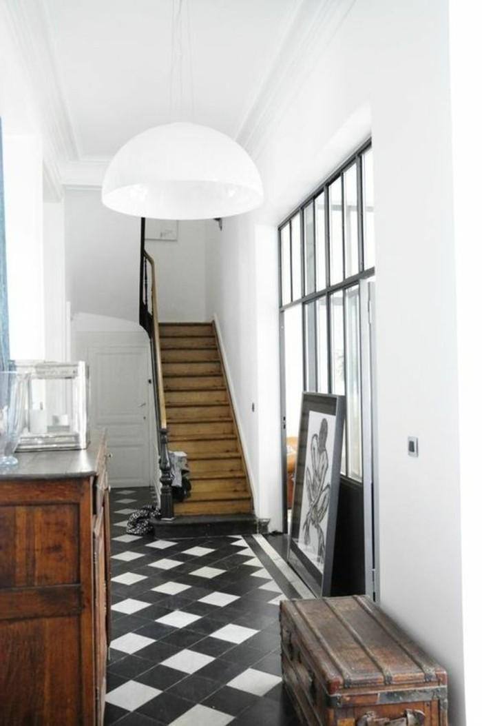 Le Carrelage Damier Noir Et Blanc En 78 Photos Archzinefr