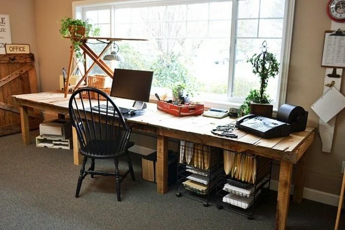 Bureau En Palette Modles DIY Et Tutoriel Pour Le