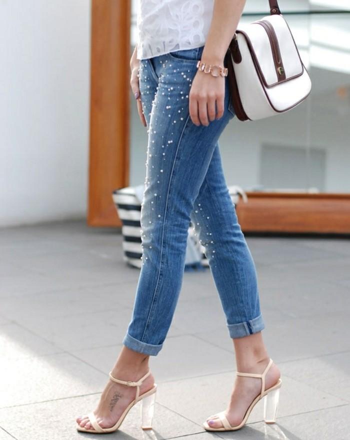 Comment Customiser Un Jean 60 Photos Dides Chic