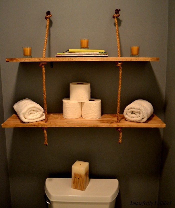 etagere salle de bain un bain d idee