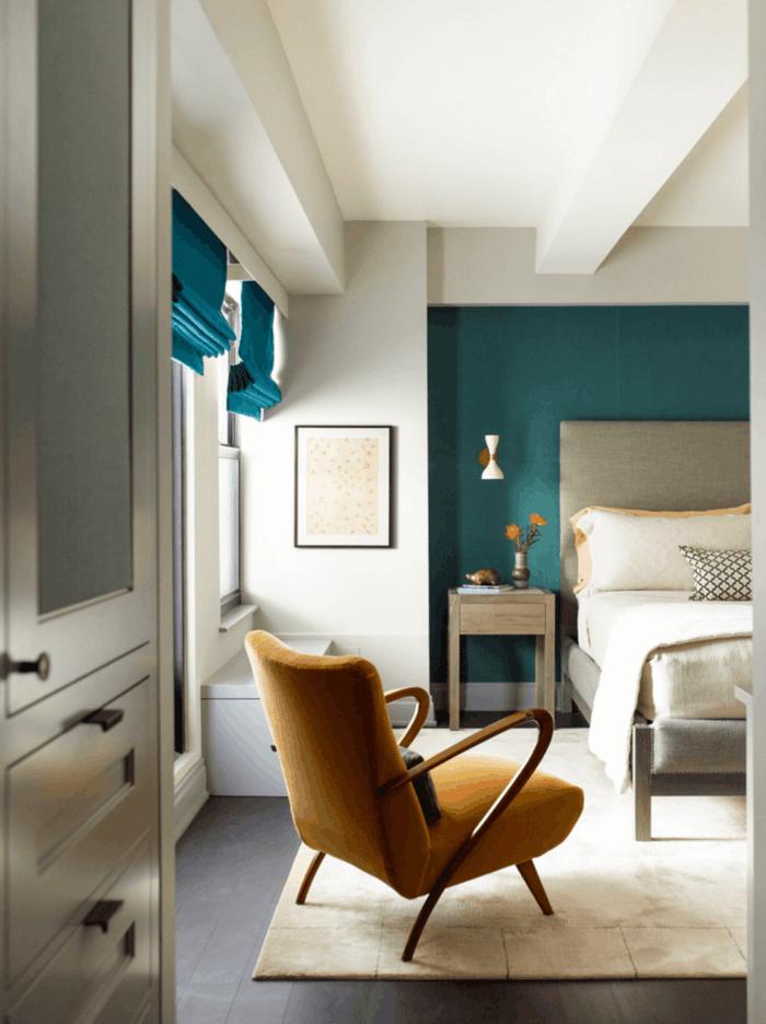 1001 Ides Pour La Dcoration Dune Chambre Bleu Paon