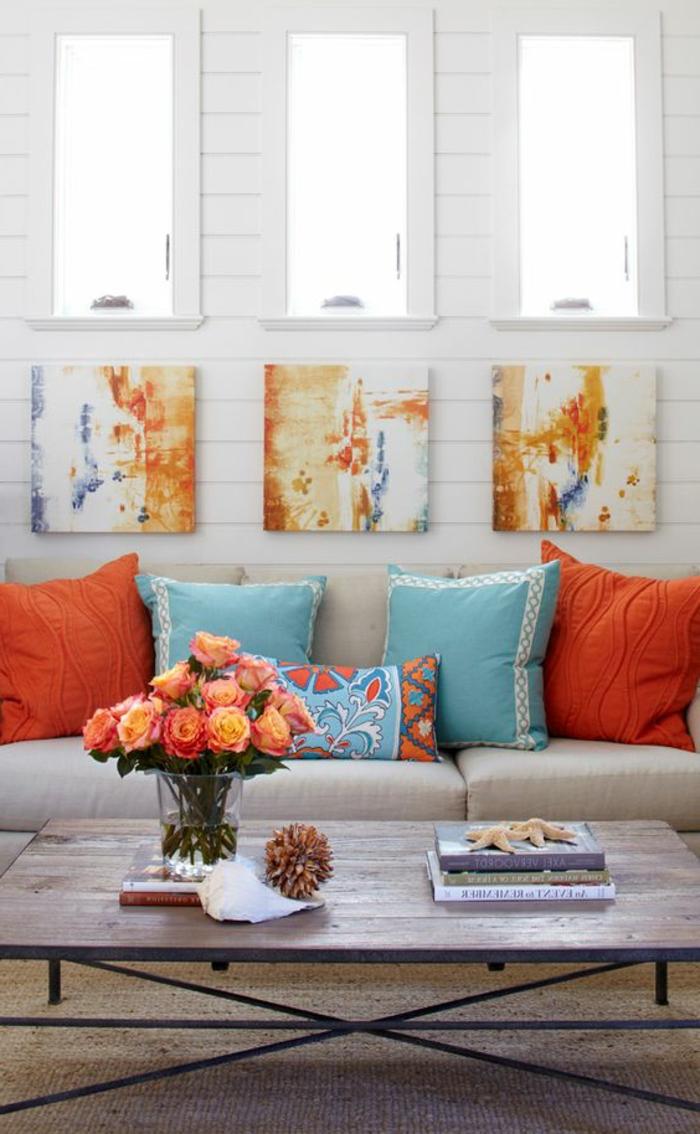 Decoration Salon Couleur Bleu