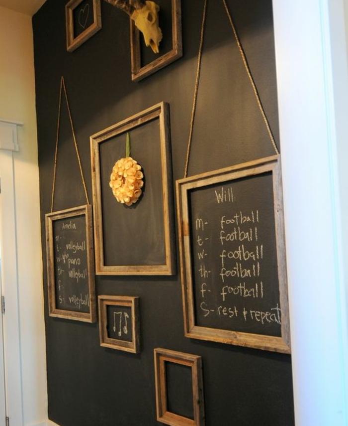 Idee Deco Mur Gris Stunning Un Salon En Gris Et Blanc