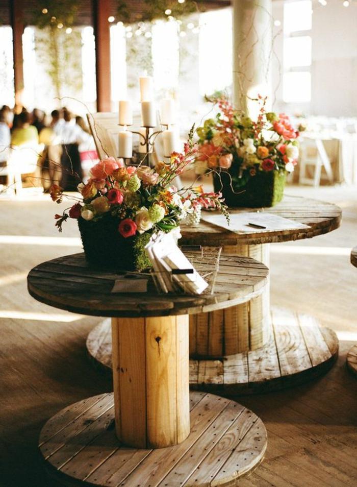 la table en touret astuces et idees pour customiser la meilleure trouvaille recup de l annee