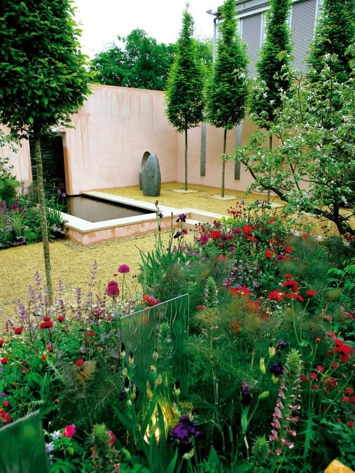 Amnagement Petit Jardin Extrieur Superbe Amenagement