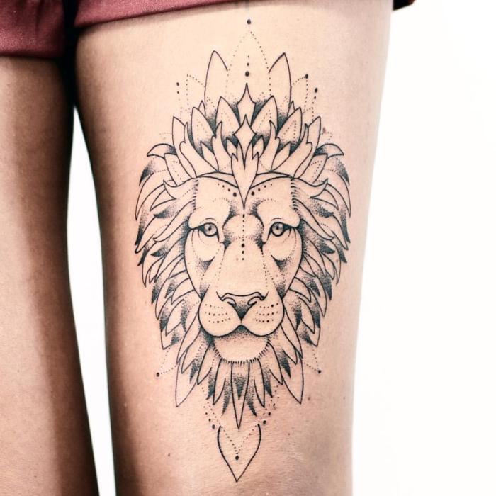 Belle Disney Tattoo Mandala