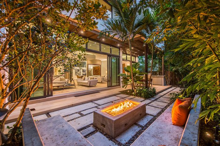 Amnager Une Terrasse Extrieure Cuisine Extrieure Sur M