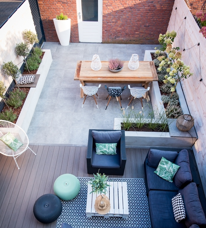 Idees Pour Amenager Une Terrasse Perfect Ide Terrasse