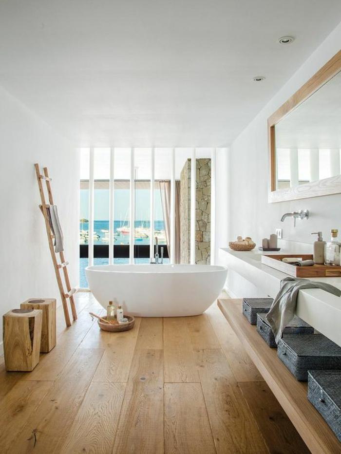 idees pour creer une salle de bain nature