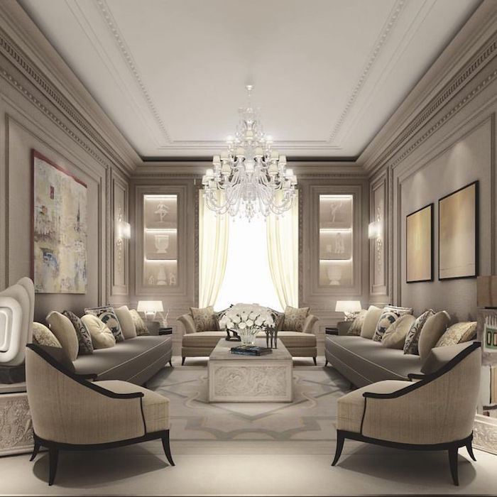 Salon Taupe Et Beige - Lovehong.top