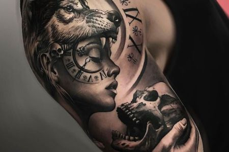 Tatouage Loup Avant Bras Top This Was The Photo We Decided To Use