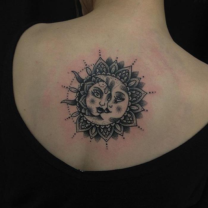 Judul Tatouage Lune Et Etoile Signification Amazing Picture