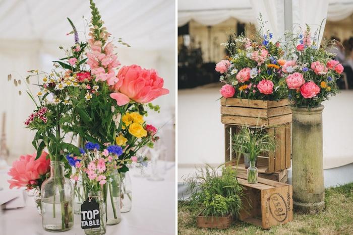 Composition Florale Champetre Affordable Dcoration