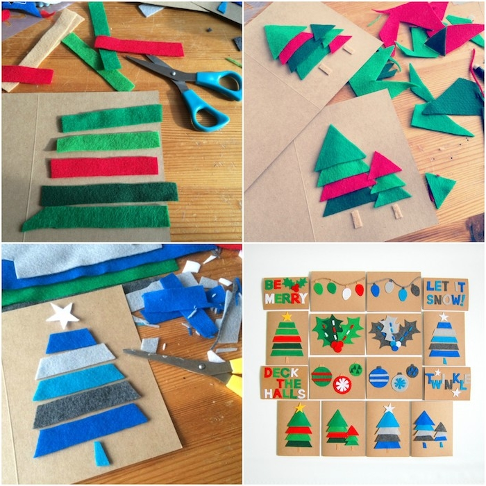 Papier Bricolage Noel Facile Maternelle