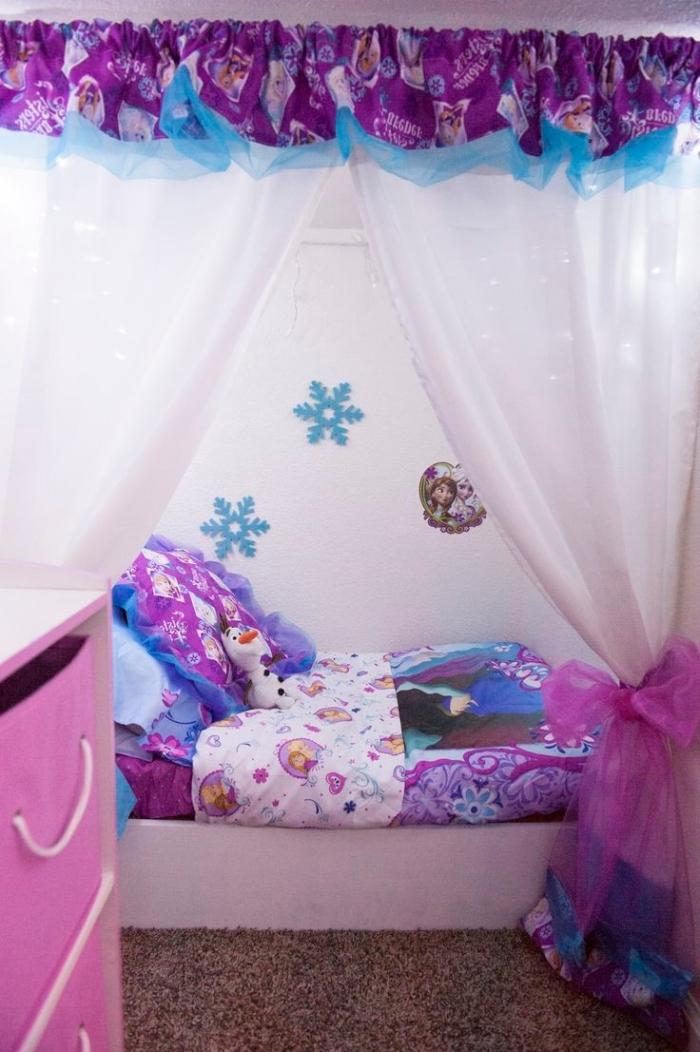 chambre reine des neiges